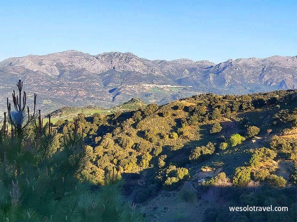 Gorgeous landscapes Sierra Grazalema