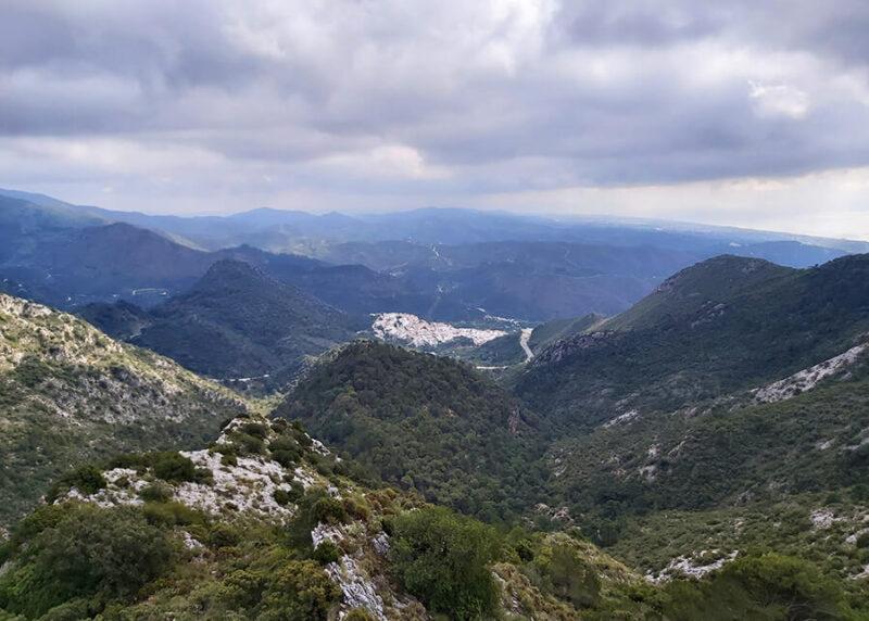 A view from Mirador de Juanar