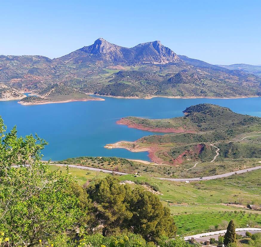 Zahara de la Sierra, a view from Castillo