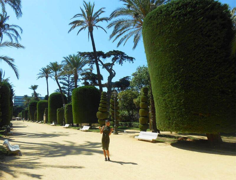 Genovese gardens Cadiz