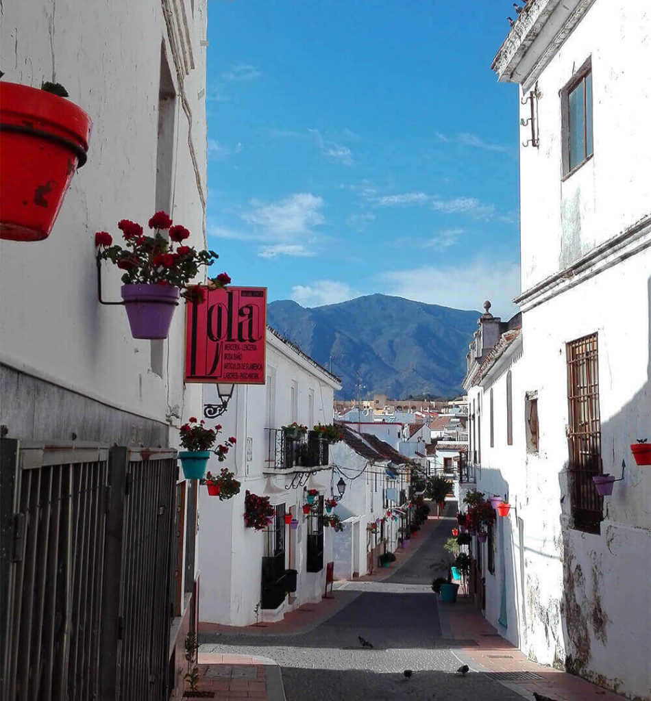 Old town Estepona Spain