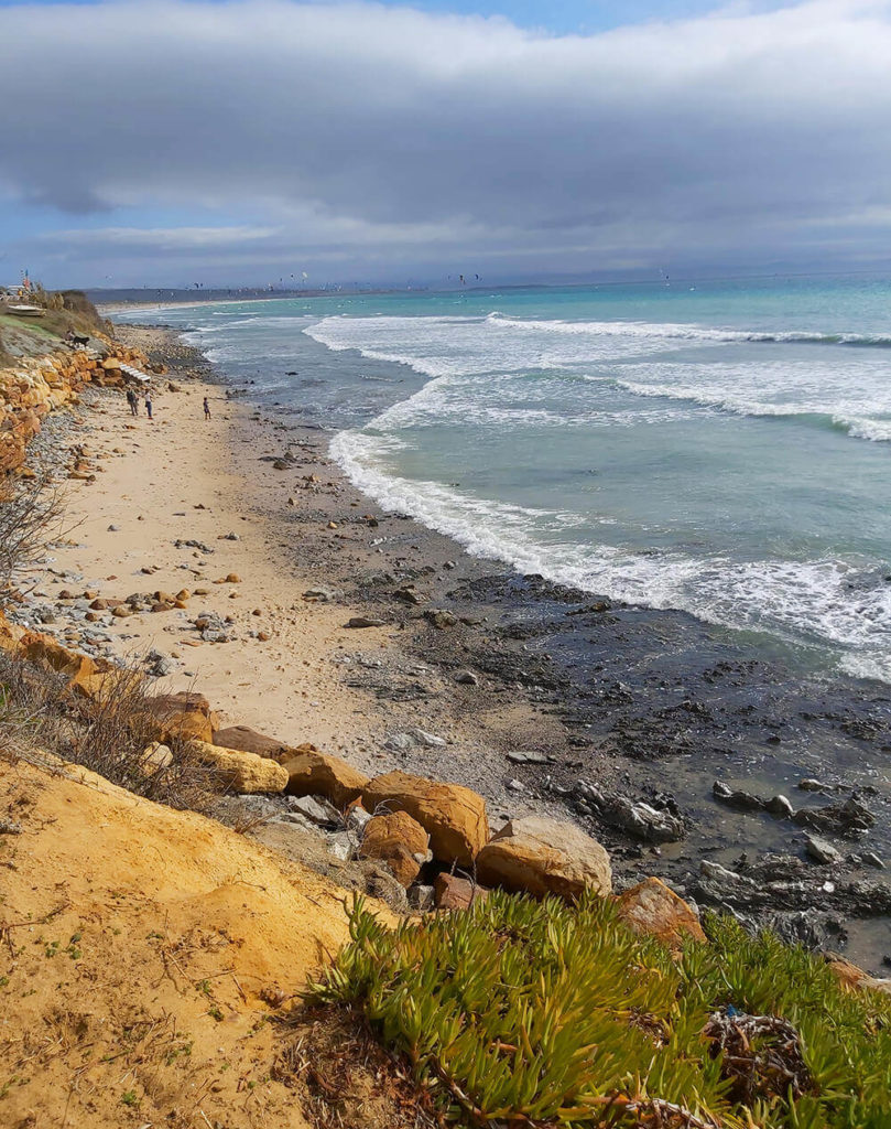 Camino de la Pista, beautiful beach area in Tarifa