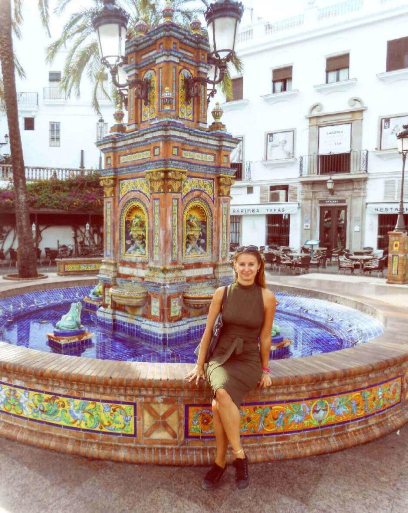 Main plaza at Vejer de la Frontera