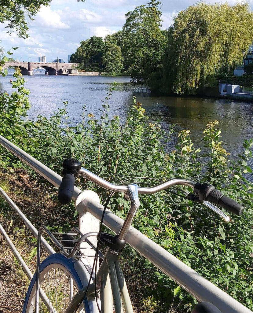 Leinfand in Hamburg, swapfiet bike