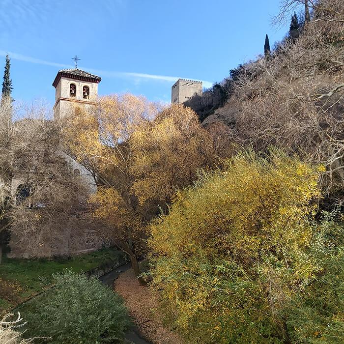 Granada in December