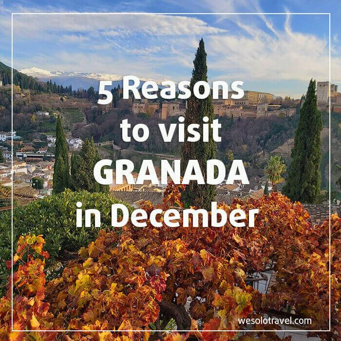 5 Reasons to see Granada in December