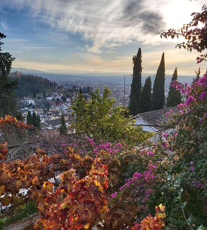 Amazing views in Granada