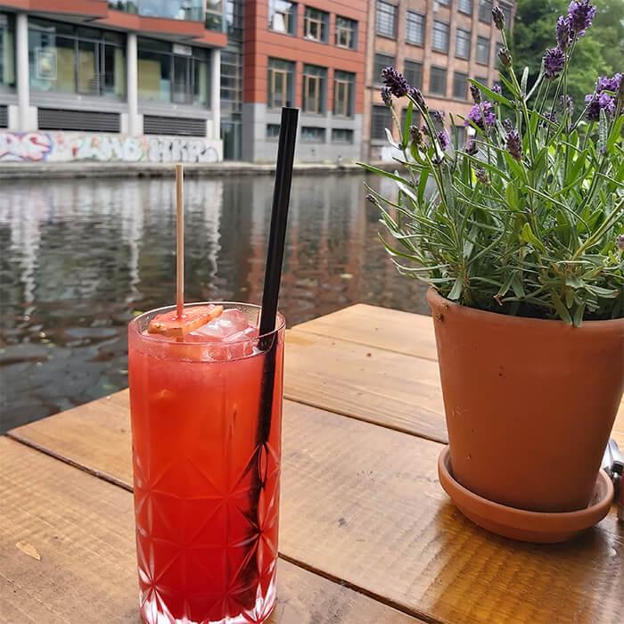 Mixed drink Chapeau Hamburg